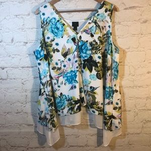 ALL PS B1G1 FREE NOW! NWT WORTHINGTON SHEER BLOUSE